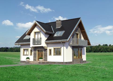 Projekt domu Tytus