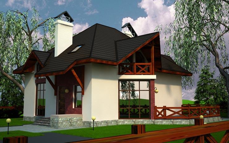 Проект домa ГП-70-07