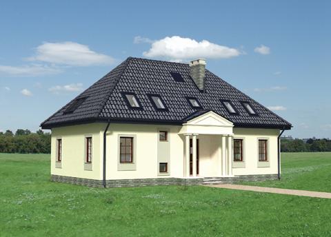 Projekt domu Ursyn