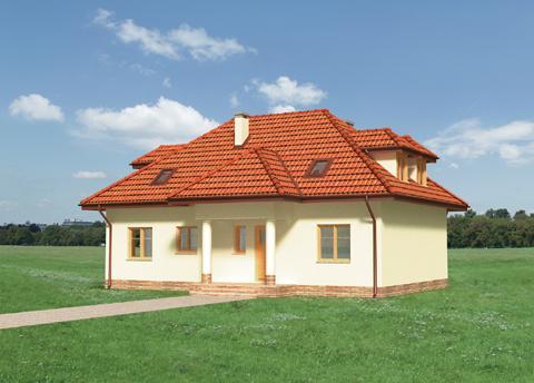Projekt domu Ustronie