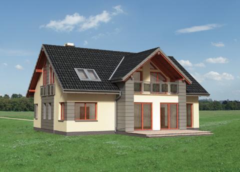 Projekt domu Vilmar