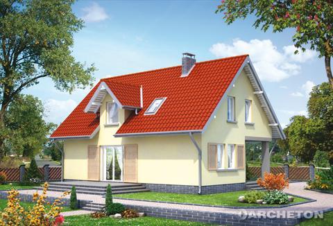 Projekt domu Wacek