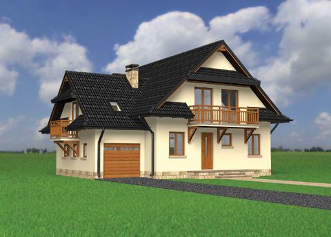 Projekt domu Watra