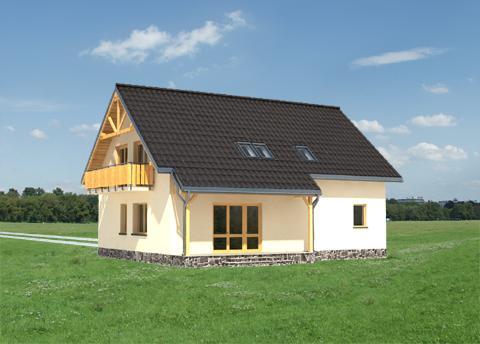 Projekt domu Ważka