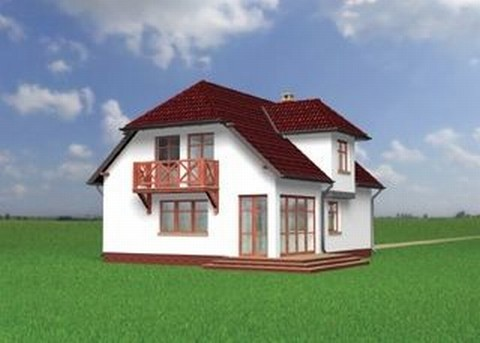 Projekt domu Wega