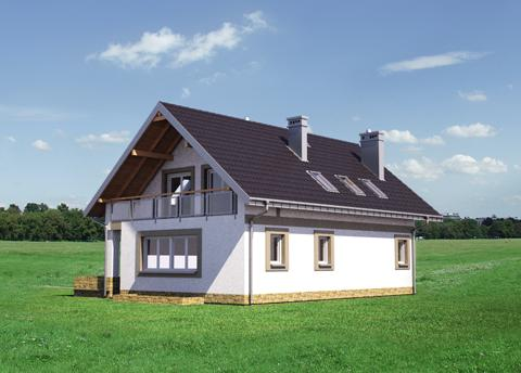 Projekt domu Widokówka