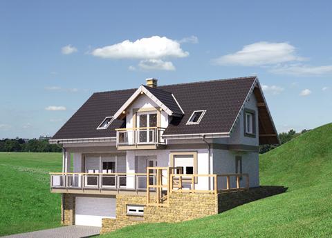 Projekt domu Widokówka Stok