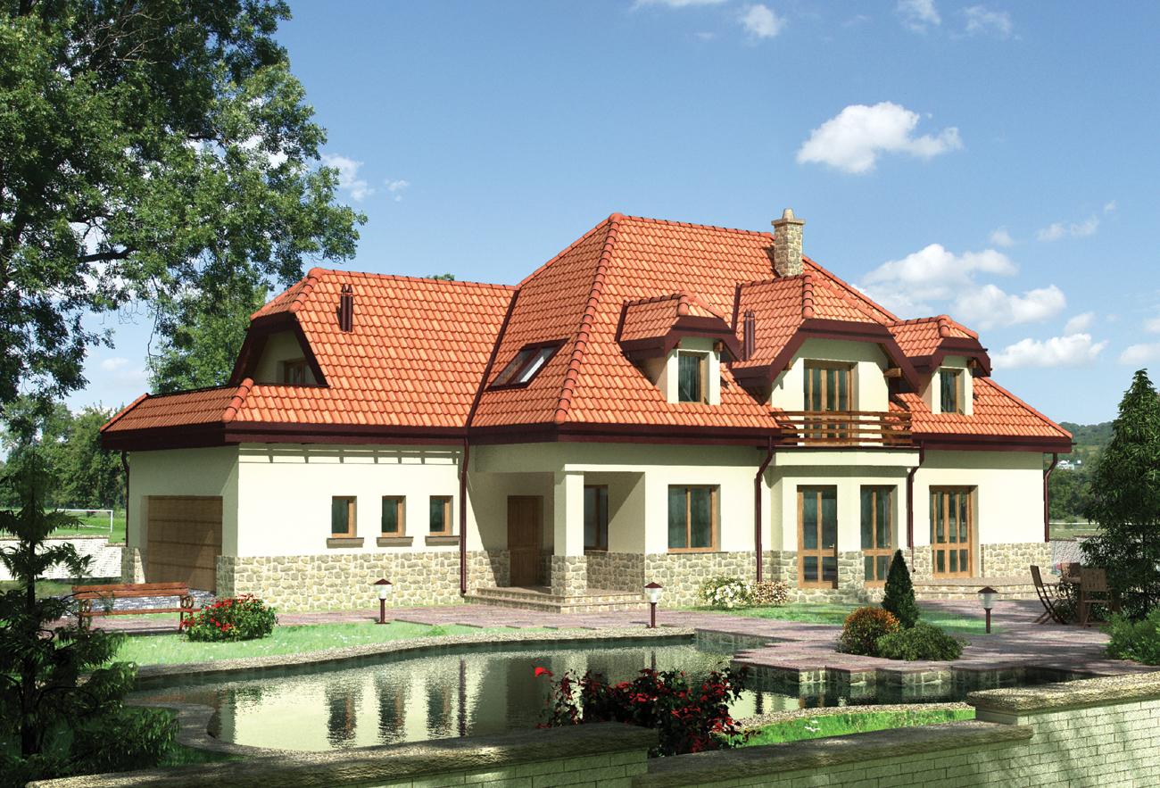 Znalezione obrazy dla zapytania duży dom