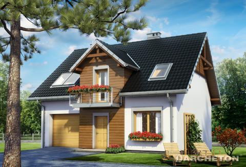 Projekt domu Winnik