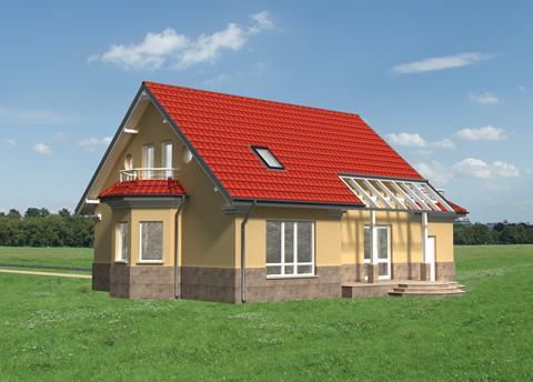 Projekt domu Wisienka