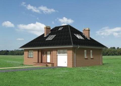 Projekt domu Wiślan