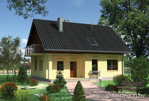 Projekt domu Witlinek
