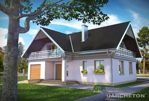 Projekt domu Wodnik