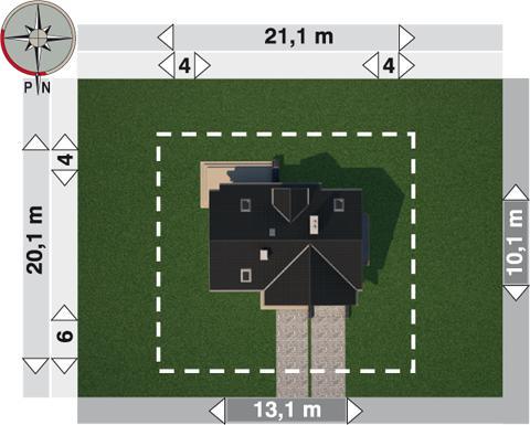 Projekt domu Wodnik As