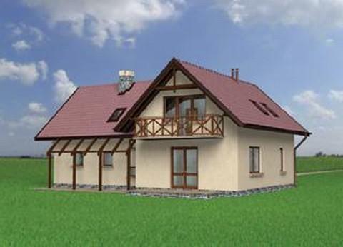 Projekt domu Zakątek