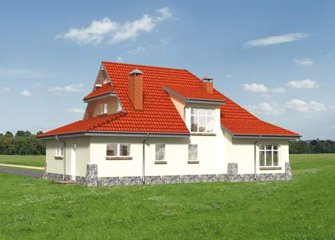 Projekt domu Zameczek