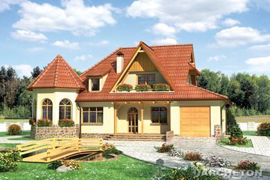 Projekt domu Zameczek-2