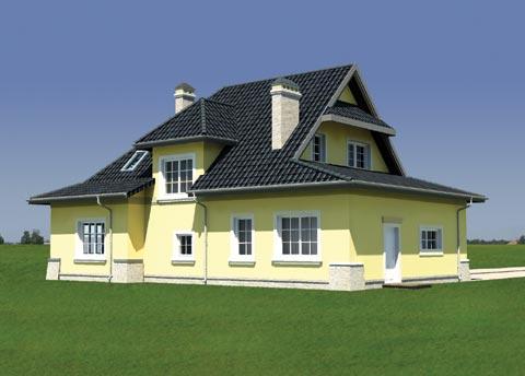 Projekt domu Zameczek Lux