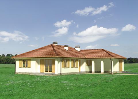 Projekt domu Zawilec