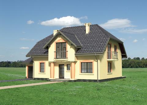 Projekt domu Zdrój