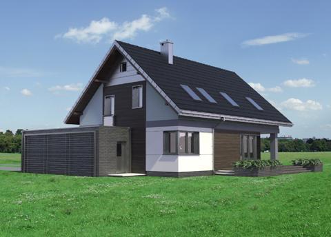 Projekt domu Zenon