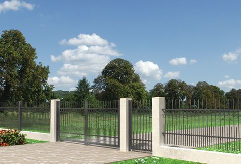 Projekt Zestaw ogrodzeń
