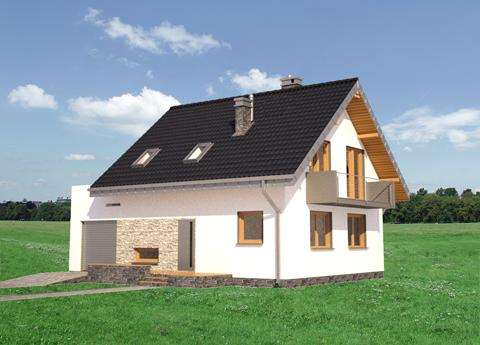 Projekt domu Zeta