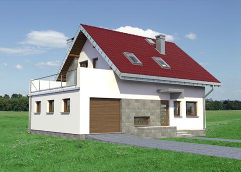 Projekt domu Zeta Karbo