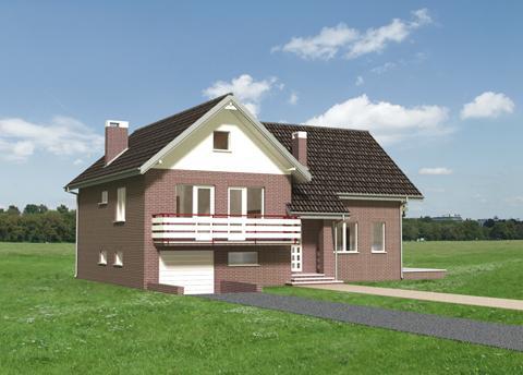 Projekt domu Zgoda