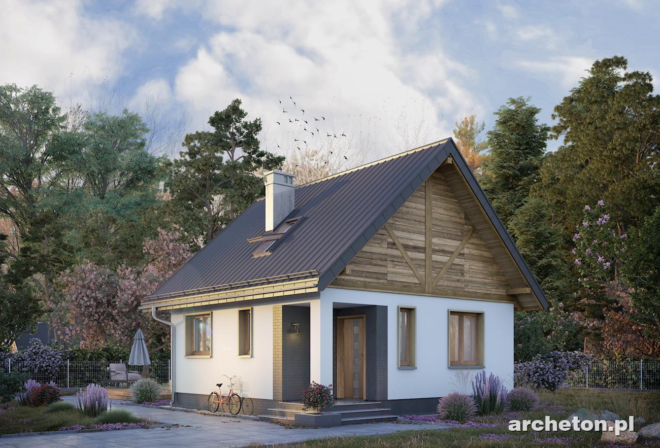 Gotowe Projekty Domów Na Planie Prostokąta Archetonpl