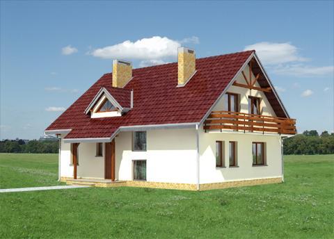 Projekt domu Zięba