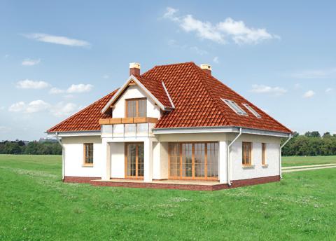 Projekt domu Złotokap
