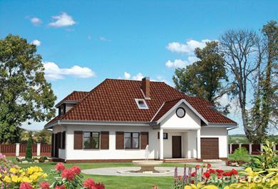 Projekt domu Złoty Róg