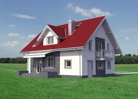 Projekt domu Zofia Mini Neo