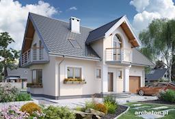 Projekt domu Zofia Portyk