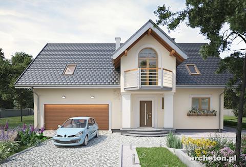 Projekt domu Zofia Portyk G2