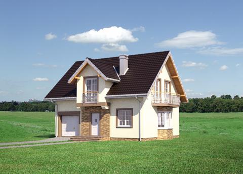 Projekt domu Zofia Prima