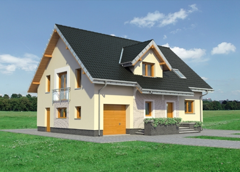 Projekt domu Zoja Lux Eko
