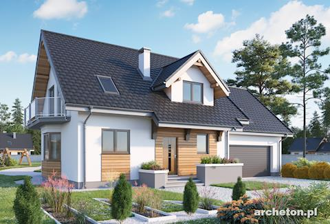 Projekt domu Zoja Lux G2