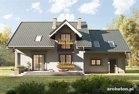 Projekt domu Zoja Luxor G2
