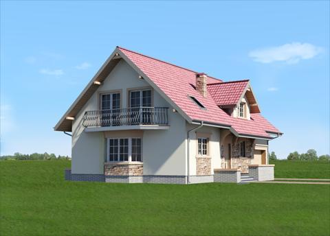 Projekt domu Zoja plus Lux