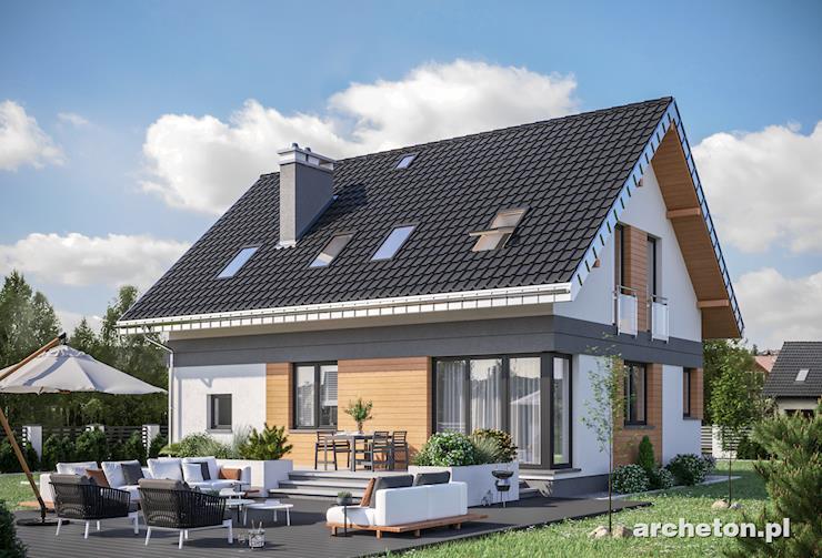 Projekt domu Zojka Neo - niewielki i nowoczesny dom, idealny dla 5 osobowej rodziny