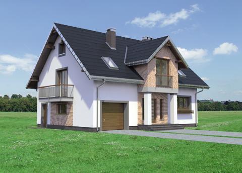 Projekt domu Zoltan Atu