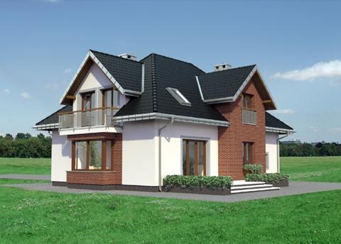 Projekt domu Zoltan Karo