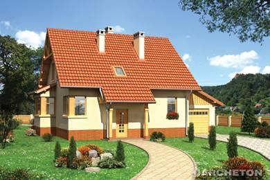 Projekt domu Żonkil