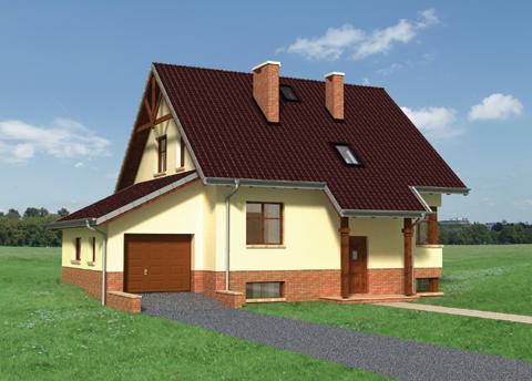 Projekt domu Żonkil-2