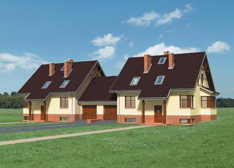 Projekt domu Żonkil-2 Duo