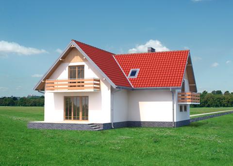 Projekt domu Zorza