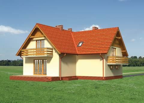 Projekt domu Zorza-2