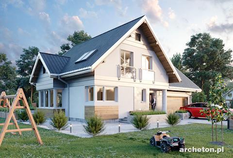 Nowości Projektowe Najnowsze Projekty Domów Archetonpl